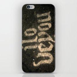iloveyou iPhone Skin