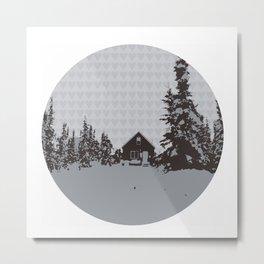 cabin love Metal Print