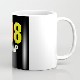 808 Vintage Drum Machine Handclap Retro Coffee Mug