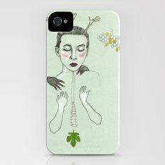 kış (winter) Slim Case iPhone (4, 4s)