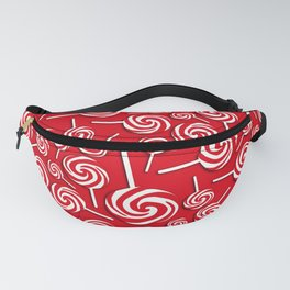 Candy Swirls-Large Fanny Pack