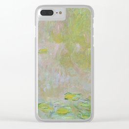 Water Lily Pond by Claude Monet Clear iPhone Case