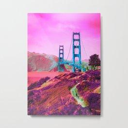 Magic Bridge Metal Print