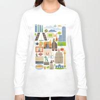 madrid Long Sleeve T-shirts featuring Madrid  by La Merienda