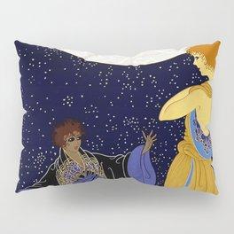 """Art Deco Design """"Night Dream"""" Pillow Sham"""