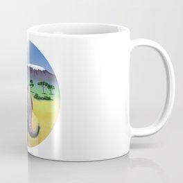 Mrs Elephant Coffee Mug