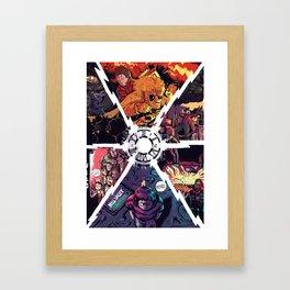 Straight Outta Time Framed Art Print