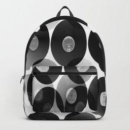 Something Nostalgic II - Black And White  Backpack