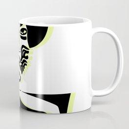 Nina Simone Neon Yellow Coffee Mug