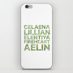 The many names of Aelin Galathynius iPhone & iPod Skin