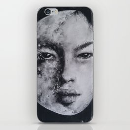 In All Her Phases iPhone Skin