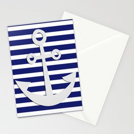 Hipster Sailing Stationery Cards