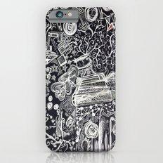 White/Black #2  Slim Case iPhone 6s