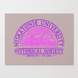 Miskatonic Historical Society Canvas Print