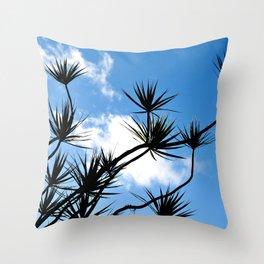 summer silhouettes Throw Pillow