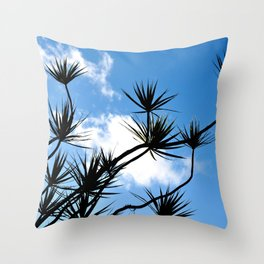 summer silhouettes Throw Pillow