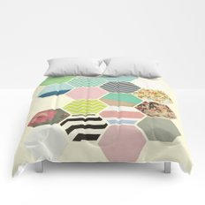 Florals and Stripes Comforters