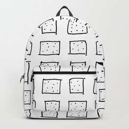 Dotty Squares Backpack