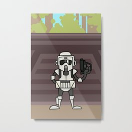 EP6 : Scout Trooper Metal Print