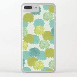 Cabbages Clear iPhone Case