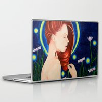 firefly Laptop & iPad Skins featuring Firefly  by A.LynnArt