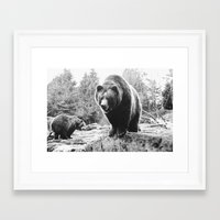 winnie the pooh Framed Art Prints featuring Winnie the Pooh by Taylor Aydelotte