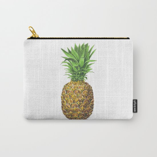 Pineapple, tropical fruit Carry-All Pouch