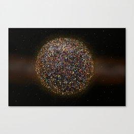 Megaplanet Canvas Print