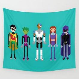 Teenage Superheroes Wall Tapestry