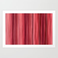 Ambient 33 in Pink Art Print