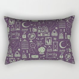 Haunted Attic: Phantom Rectangular Pillow