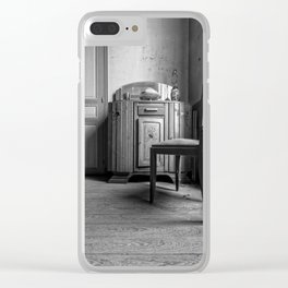 The House fire traps - The old hairdresser Clear iPhone Case