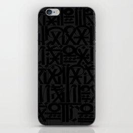 calligraphy iPhone Skin