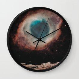 EYE OF SPACE Wall Clock