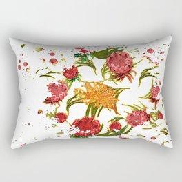 Beautiful Australian Native Floral Graphic Rectangular Pillow