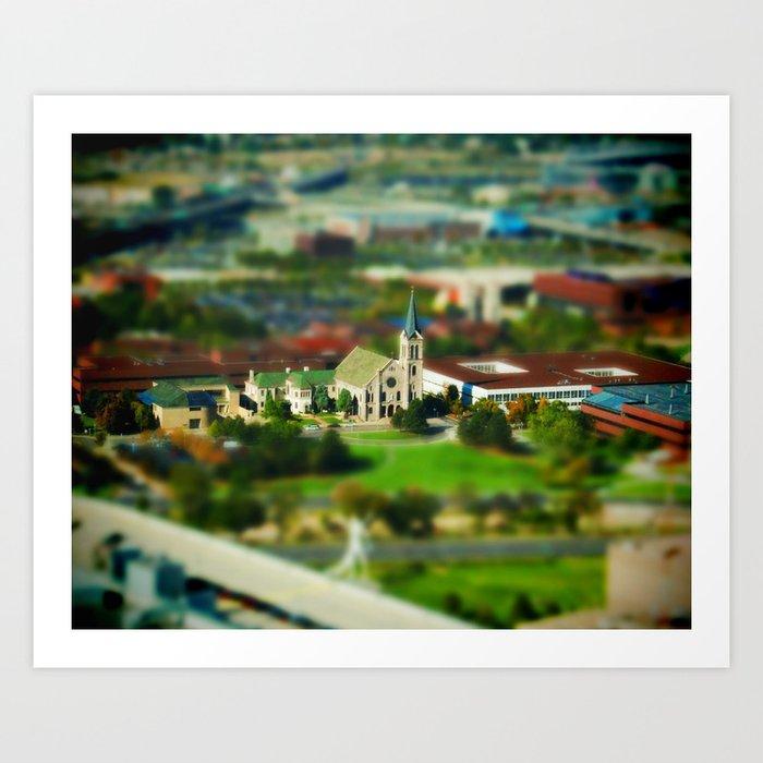 Auraria Campus Art Print