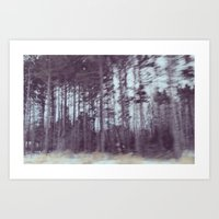 forrest Art Prints featuring Forrest by Anthony Londer