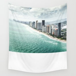 fort lauderdale skyline Wall Tapestry