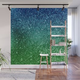 Ombre glitter #7 Wall Mural