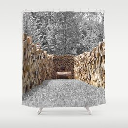 Take Your Time Shower Curtain