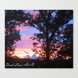 Purple Sky Canvas Print