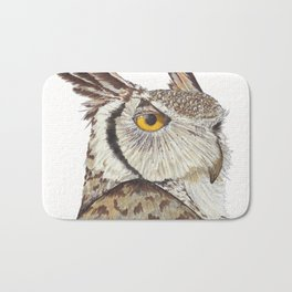 Quintus the Owl Bath Mat