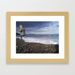 Run Away! Framed Art Print
