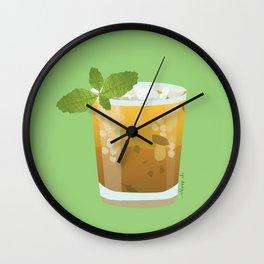 Mint Julep - Minty Fresh Wall Clock