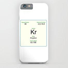 36 Krypton iPhone Case