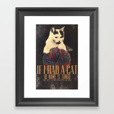 Original Pet Names Framed Art Print
