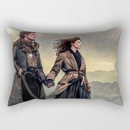 The New World Rectangular Pillow