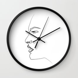 ''Profile Collection''- Straight Forward Wall Clock