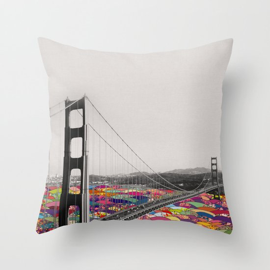 It's in the Water Throw Pillow