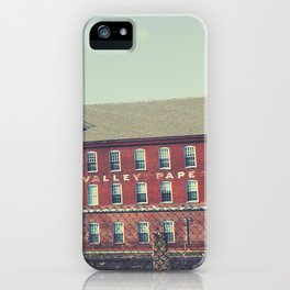 Valley Paper Company iPhone Case